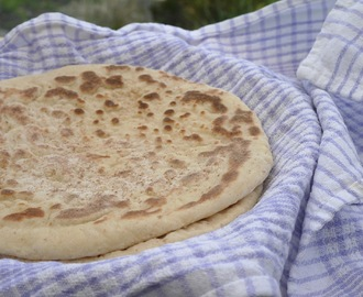 Really Soft Naan Bread.