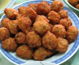 DEEP  FRIED MEAT BALLS