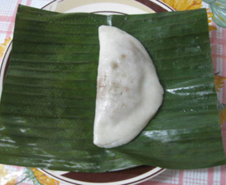 ELLA  ADA ( Steamed Sweet Coconut and Rice Flat Cakes ) KERALA SPECIAL