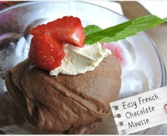 Easy French Chocolate Mousse – Kids In The Kitchen