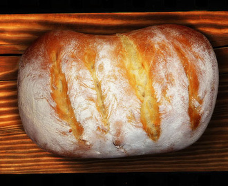 Paul Hollywood's crusty bloomer