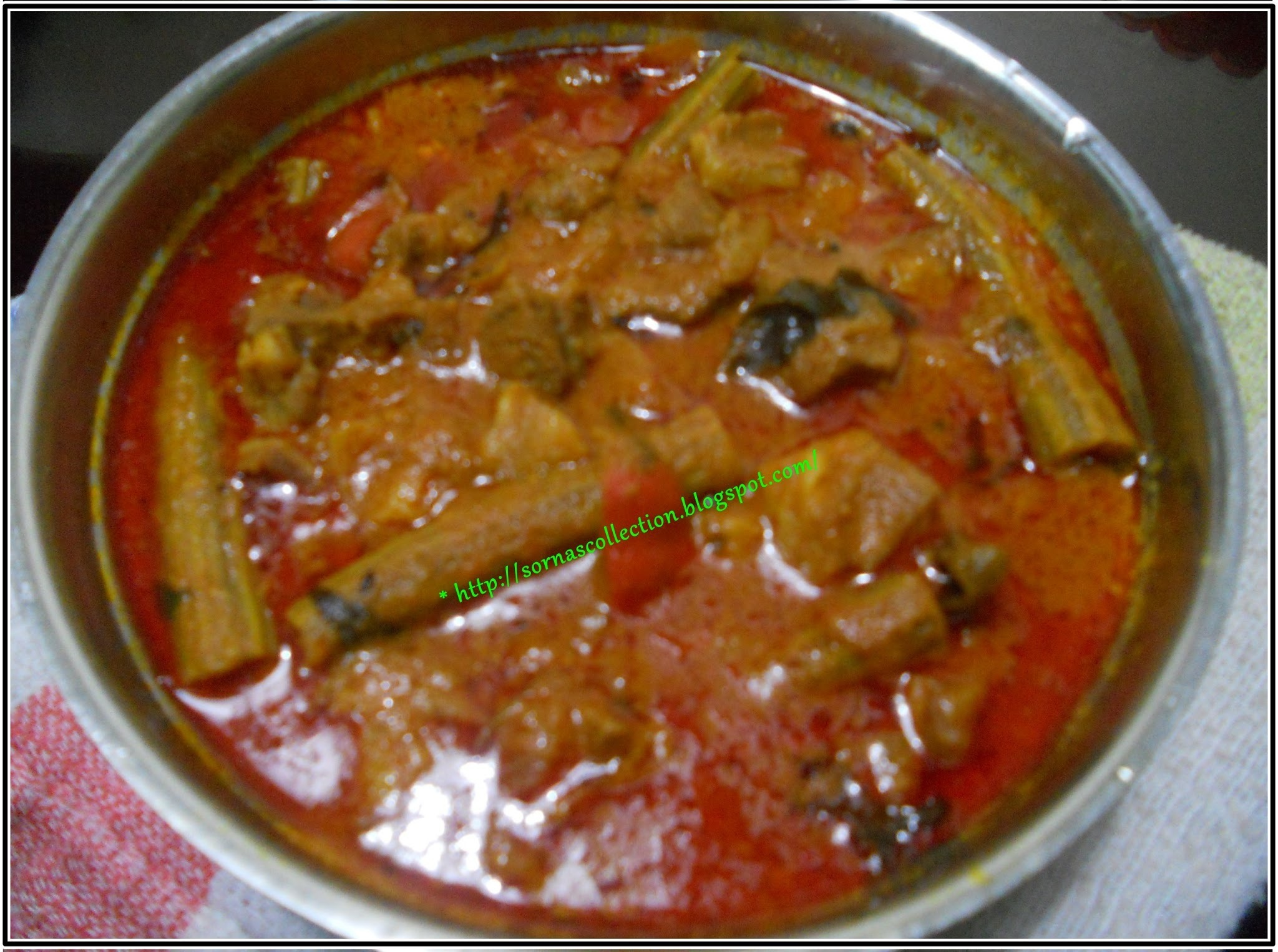 SPICY MUTTON & DRUMSTICK CURRY WITH CURD