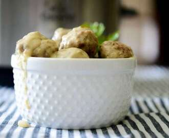 Steak Diane Meatballs