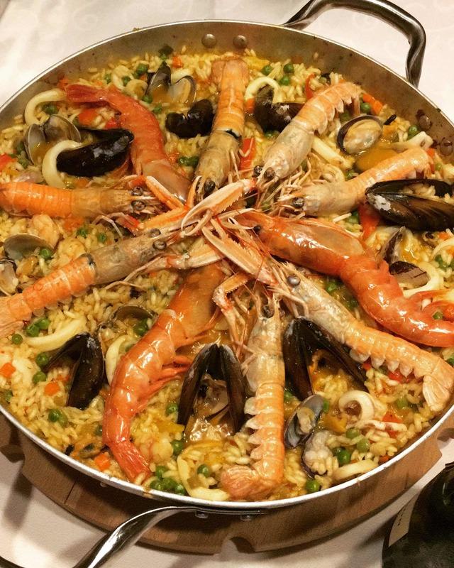 Paella Di Pesce 46 Persone Ricetta Da Mytaste