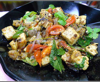 STIR-FRIED PEPPER TOFU