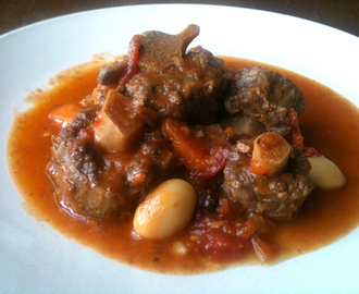 Jamaican Oxtail and Butter Bean Stew