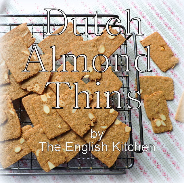 Dutch Almond Thins