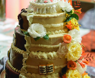 Gringa Makes a Wedding Cake……Again.