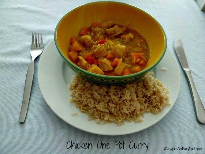 Chicken One Pot Curry for Caribbean Food Week