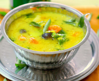 Ney Sambar (Ghee Dhal Curry)