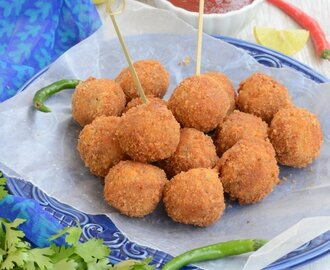 Potato and Cheese Balls