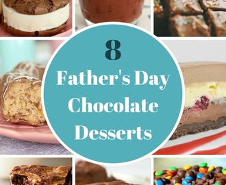 8 Totally Delicious Father's Day Chocolate Desserts