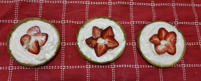Bake: Strawberry milkshake tart