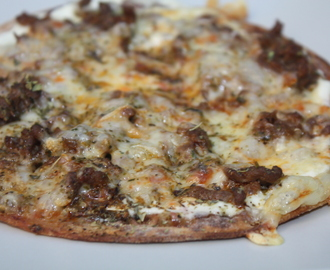Speltlompe Pizza
