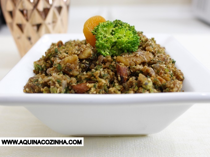 Farofa de Nuts #Lowcarb