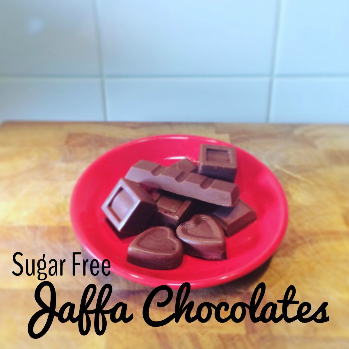 Sugar Free Jaffa Chocolates