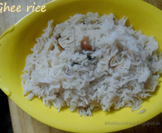 Ghee Rice / Nei Choru | Easy  Lunch Box