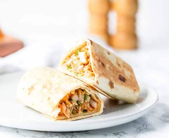BBQ Chicken Wraps