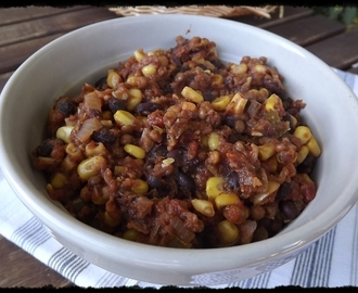 Chili Vegano Super-Fácil