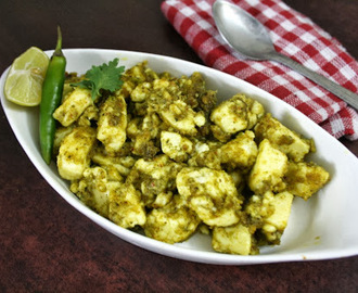 Cocktail Paneer | Curried Indian Cottage Cheese ~ Party Starters