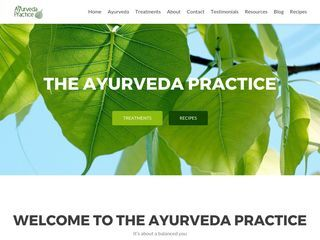The Ayurveda Practice Blog