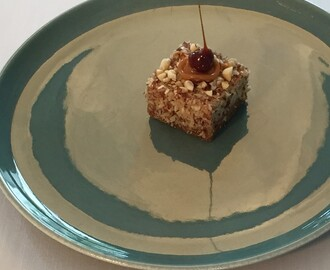 Irish Coffee Cheesecake made for Nespresso's dessert challenge at Kokkedal Castle