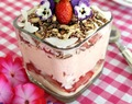 Strawberry Spring Trifle with Nutworks Sprinkles