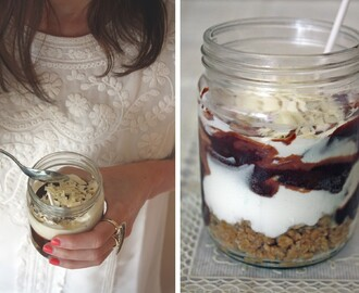 My Guest Post with Sweet tooth Cheesecake in a jar