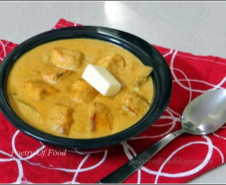 Restaurant Style Paneer Butter Masala (Indian Cottage Cheese in thick and creamy gravy of fresh tomato)..!