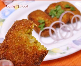 Chicken Cutlet.. A Recapitulation Of My College Canteen..!