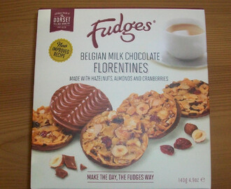 Review: Fudges Bakery Belgian Milk Chocolate Florentines