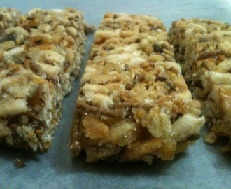 Barras de cereal hechas en casa - Home-made cereal bars