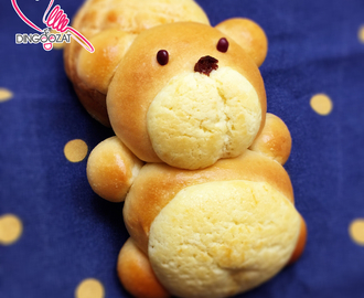 Hong Kong Polo Bear Bun 可爱小熊菠萝包