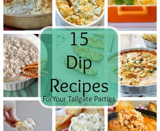 15 Delicious Dips for your Tailgating Party!