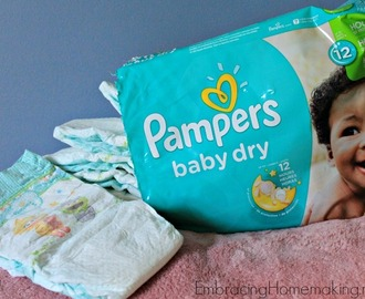 #BabyGotMoves with Pampers – Giveaway Ends 9/13