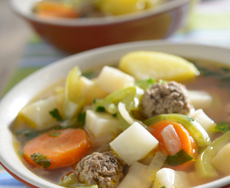 Italian Meatball and Vegetable Soup
