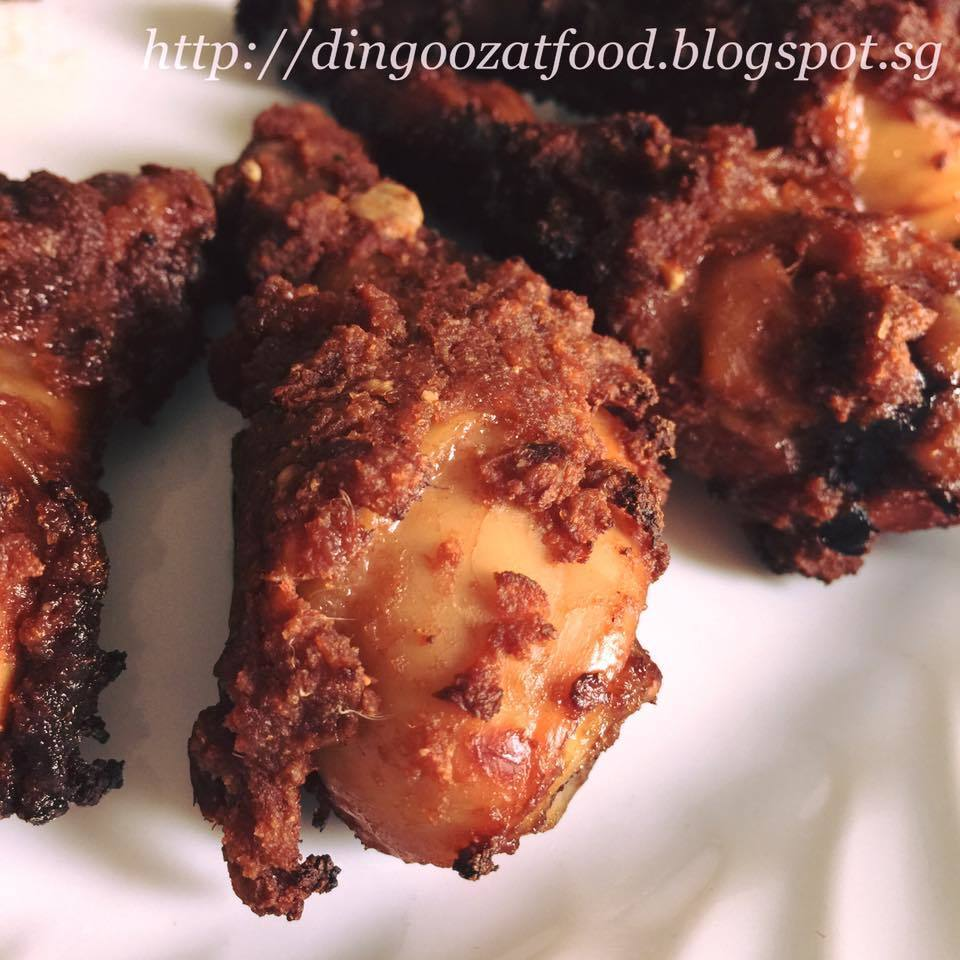 Air Fried Nam Yu Chicken (can be deep fried with oil) 美味南乳炸鸡(气炸/油炸)