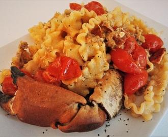 Ricette di sugo con granchio granciporro mytaste for Cucinare granchio