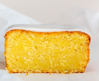 Lemon, Coconut, Sour Cream Cake