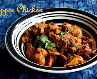 Pepper Chicken - Dry Version