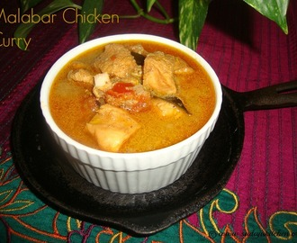 Malabar Chicken Curry Recipe / Malabari Chicken Curry Recipe