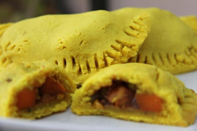 Vegetarian Jamaican Patties (Gluten Free)