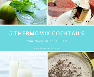 5 Boozy Thermomix Cocktails