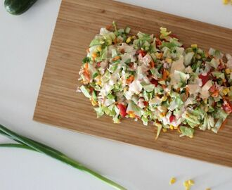 Simple Salad Series: Sweet Chilli Chopped Salad