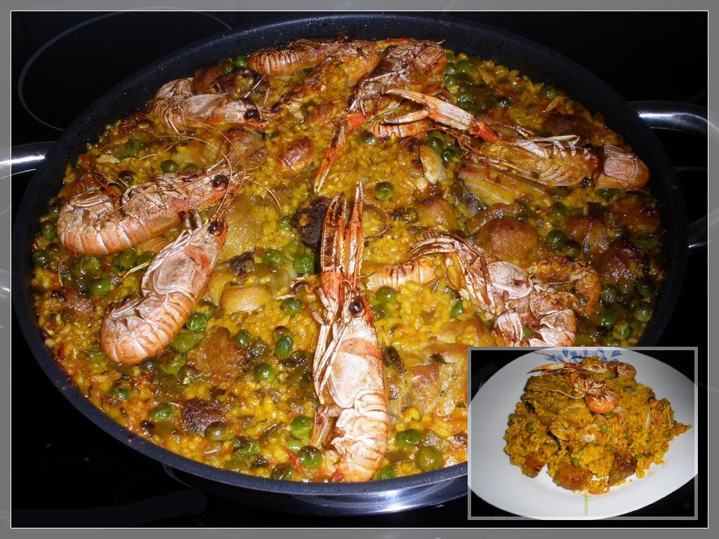 ARROZ PAELLA MIXTA