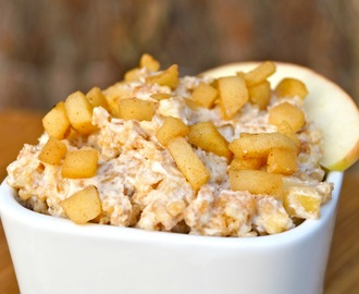 Apple crumble pasta
