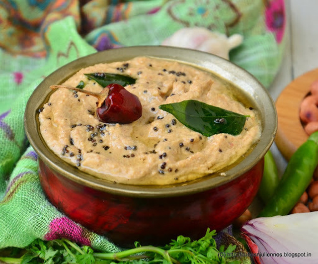 PEANUT CHUTNEY SOUTH INDIAN STYLE