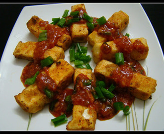 Paneer In Chilli Garlic Sauce