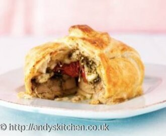 Mushrooms En Croute Recipe