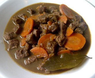 Stoofvlees met Guinness (Irish stew)